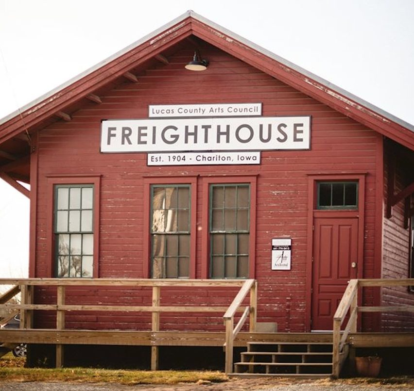 CB&Q Freight House